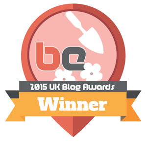 Blogging Edge's Best Gardening Blogger of 2015